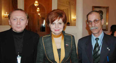 Chairman of Non-governmental Council for National Security of Russia A.Ognivcev (photo at the left).